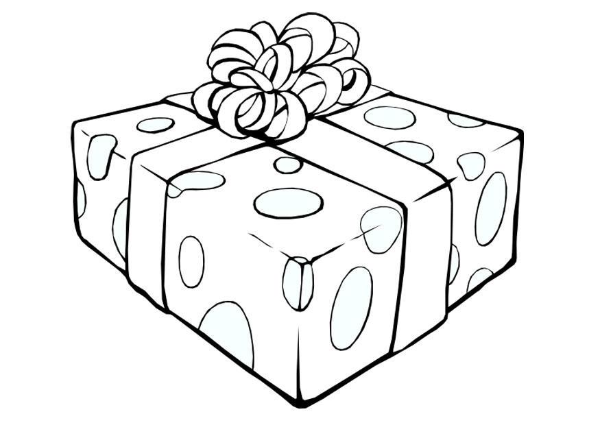 Coloriage cadeau de no l img 20291 - Dessin cadeaux de noel ...