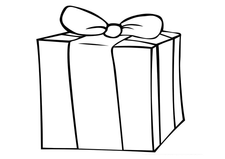 Coloriage Cadeau Coloriages Gratuits A Imprimer Dessin 20579
