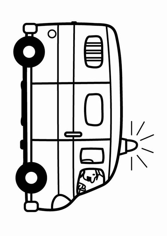 Coloriage camionnette de police img 24088 - Coloriage police ...