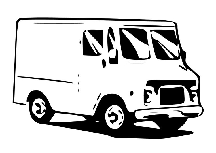 Coloriage Camionnette.Coloriage Camionnette Img 10332 Images
