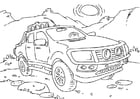 Coloriages camionnette