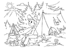 Coloriages camper