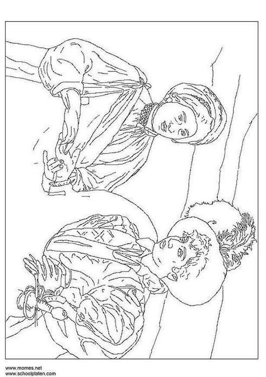 Coloriage Caravaggio Img 3180