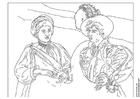Coloriage Caravaggio