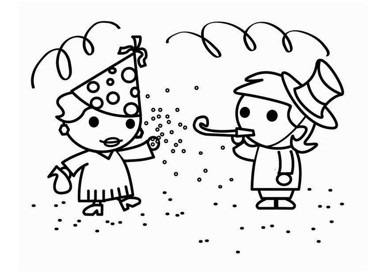Coloriage carnaval img 26456 - Carnaval coloriage ...