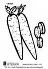 Coloriage carotte