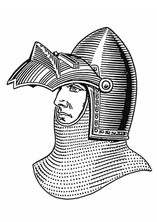 Coloriage Casque Chevalier.Coloriage Casque Avec Visiere Img 13276