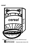 Coloriage cereals