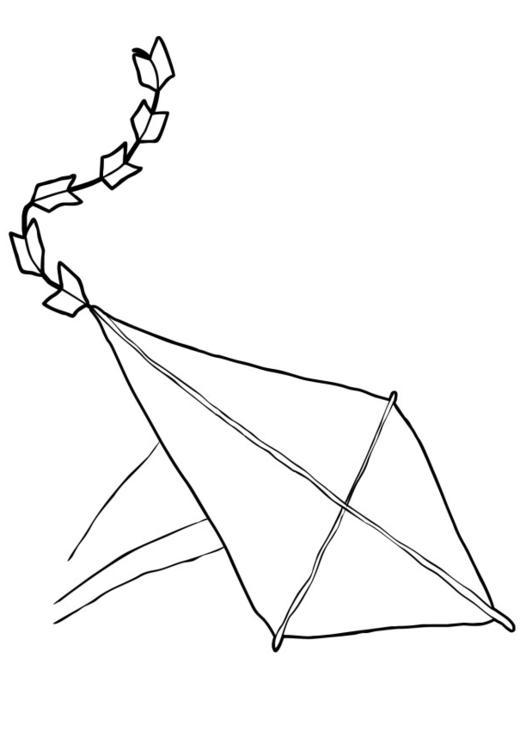 Coloriage cerf volant img 13734 - Dessin volant ...