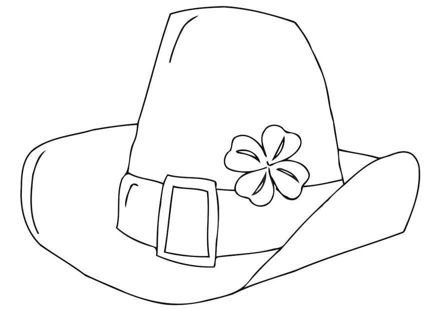 Kleurplaat Hoed Coloriage Chapeau De La F 234 Te De La Saint Patrick Img 21707