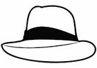 Coloriage chapeau