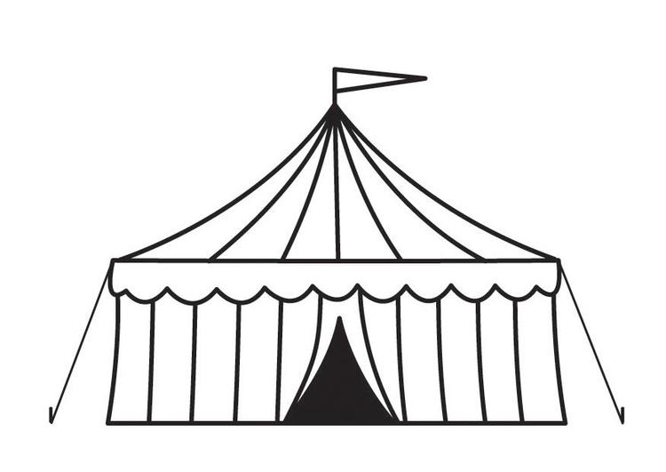 Coloriage Piste Cirque.Coloriage Chapiteau Img 23160 Images