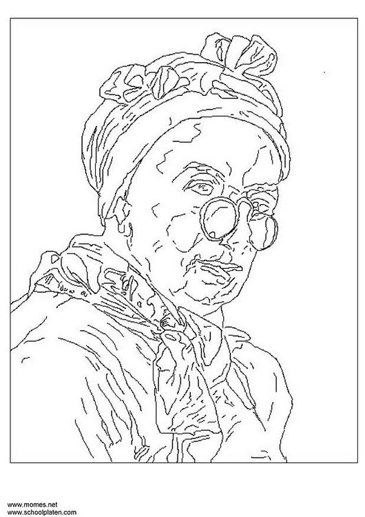 Coloriage Chardin