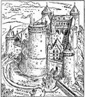 Coloriage château de Coucy
