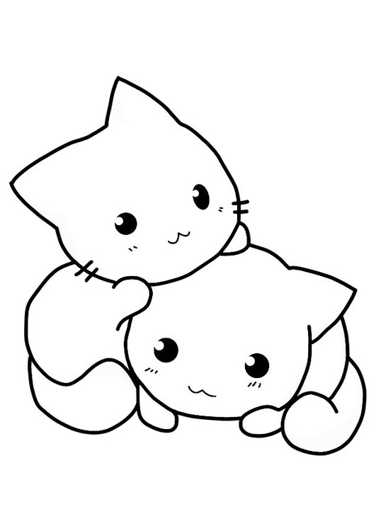 Coloriage chatons img 21154 - Chaton a colorier ...
