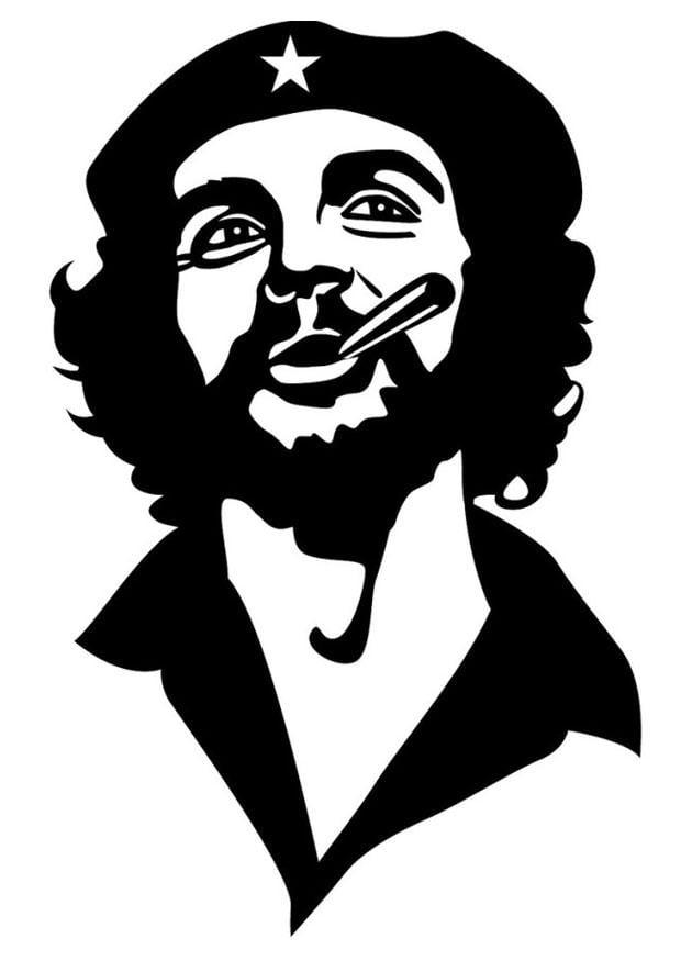 Coloriage Che Guevara Img 24689