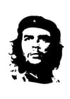 Coloriage Ché Guevara