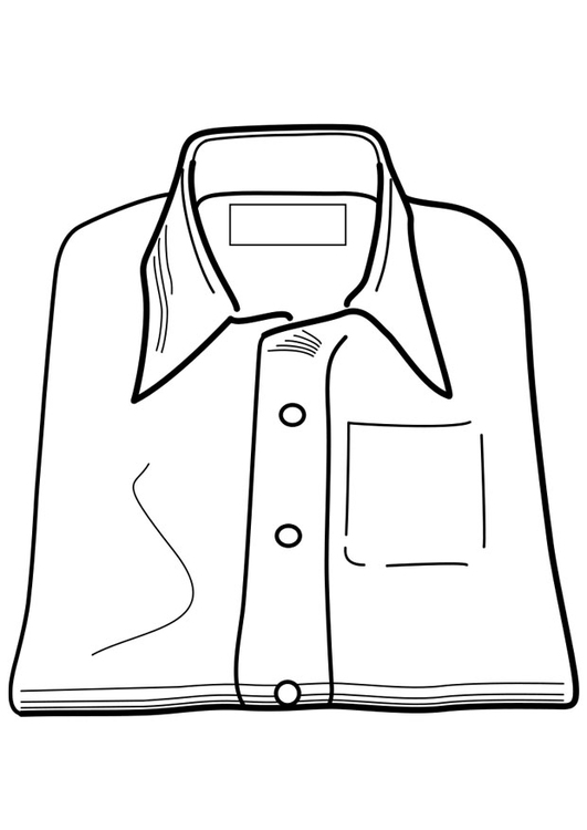 Coloriage chemise