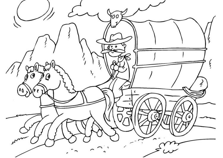 Kleurplaat Paarden Mennen Coloriage Cheval Et Roulotte B 226 Ch 233 E Img 25968 Images
