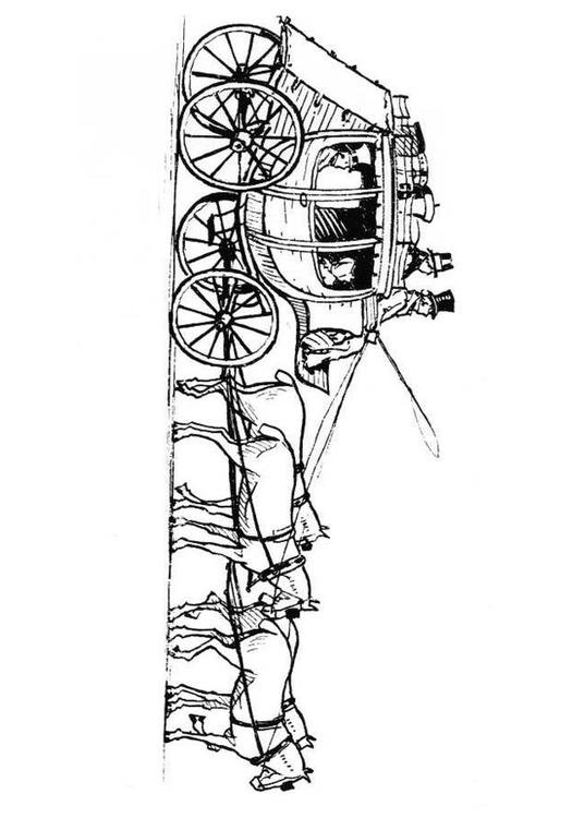 Kleurplaat Paardrn Coloriage Chevaux Avec Carrosse Img 18980