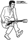 Coloriage Chuck Berry