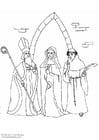 Coloriage clergé