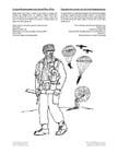 Coloriage commando de parachutistes