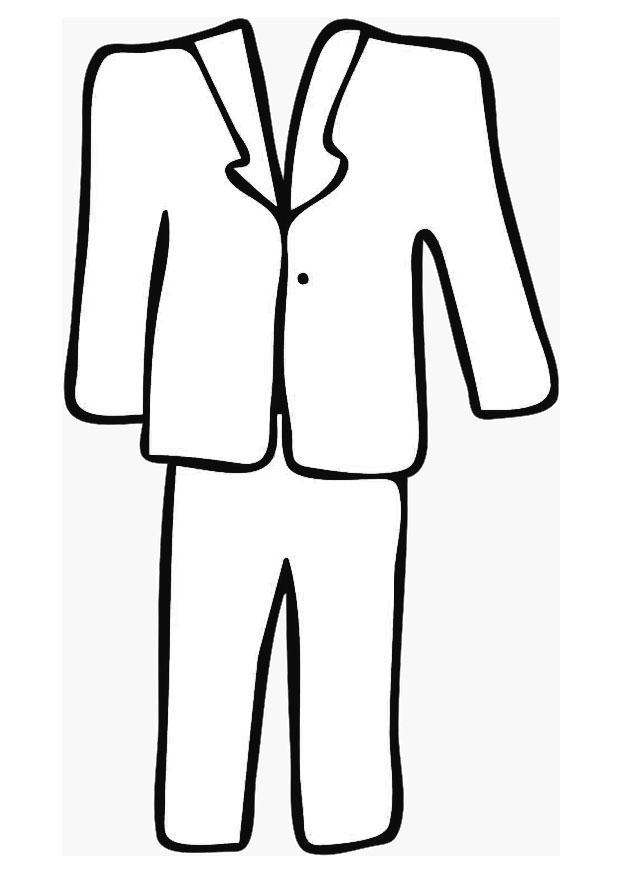 Coloriage costume sur mesure img 19359 - Dessin costume ...