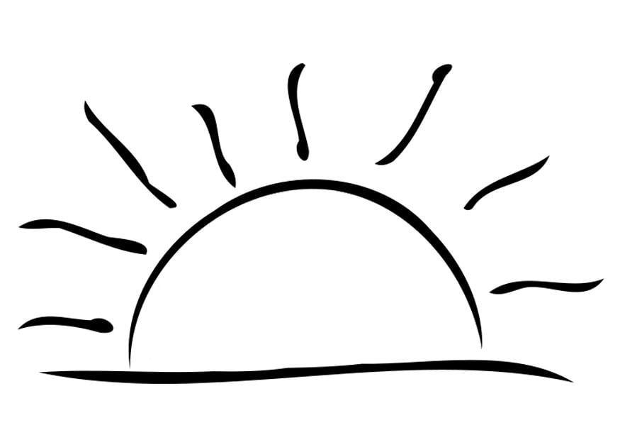 Dessin a colorier soleil - Dessin du soleil ...