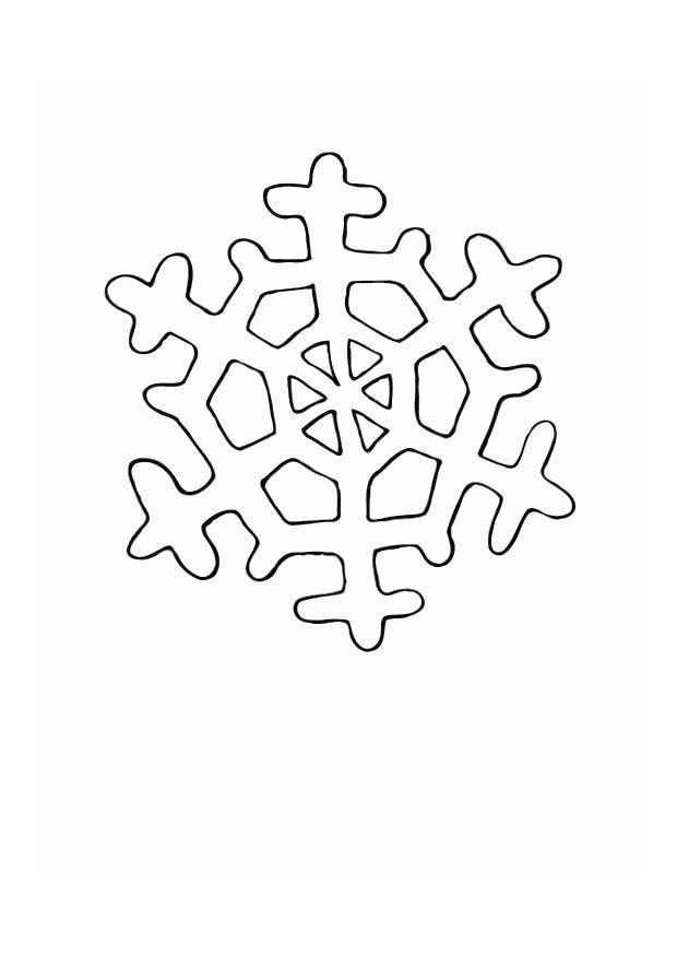 Kerst Kleurplaten Frozen Coloriage Cristaux De Glace Img 12558