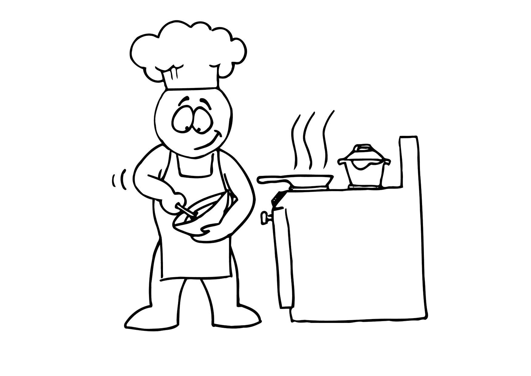 Coloriage cuisiner img 11685 - Cuisiner trompette de la mort ...