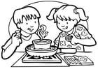 Coloriage cuisiner