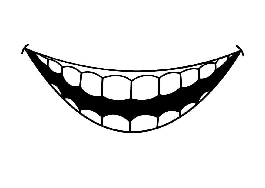 Coloriage dents img 26941 - Dessin de dent ...