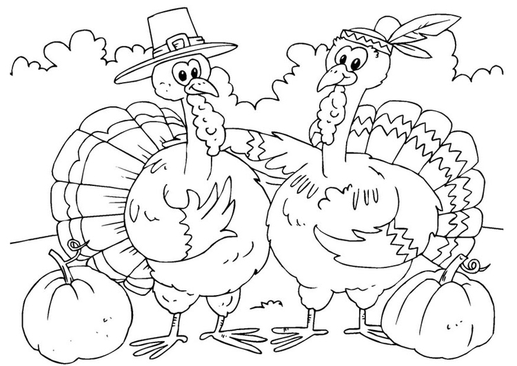 thanksgiving coloring pages google - photo#28