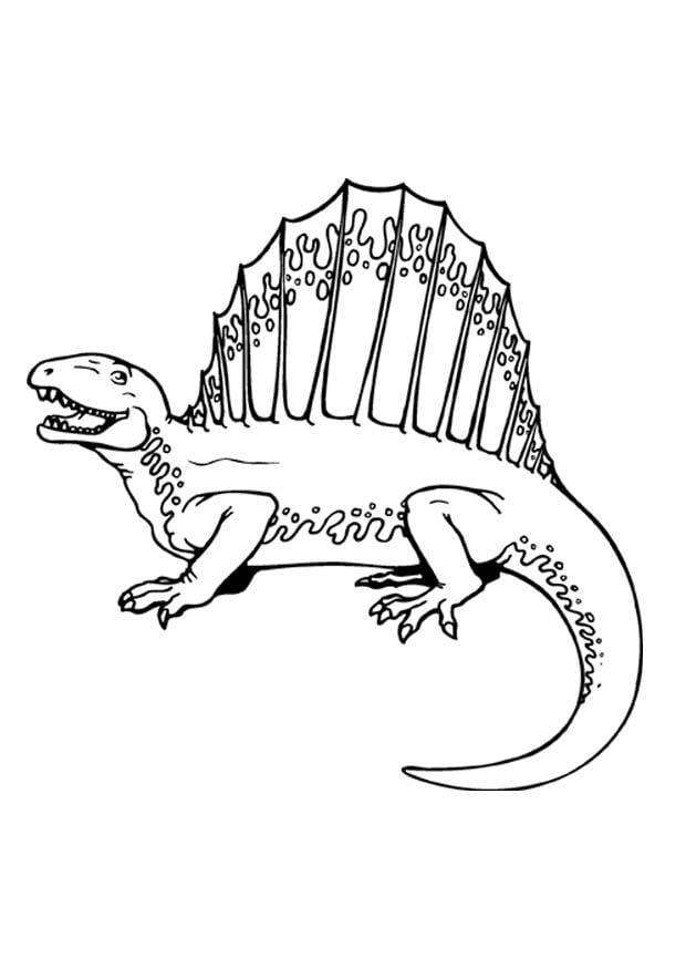 Eenvoudige Kleurplaten Dino S Coloriage Dino Img 9369