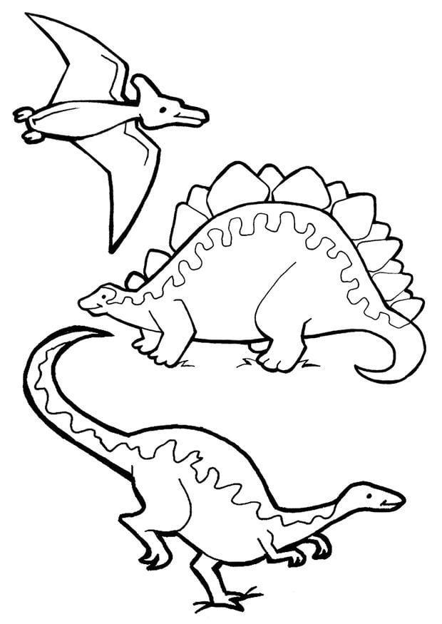 Coloriage dinosaures - Coloriages Gratuits à Imprimer ...