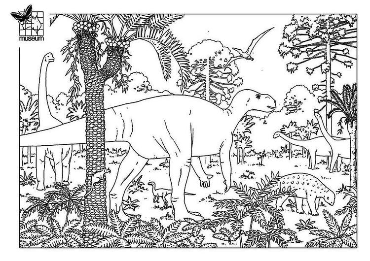 Coloriage Dinosaures Coloriages Gratuits A Imprimer Dessin 7748