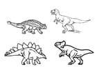 Coloriage dinosaures
