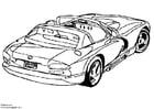 Coloriage Dodge Viper