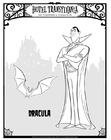 Coloriages Dracula