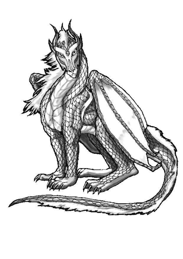 Coloriage dragon atlantique img 11046