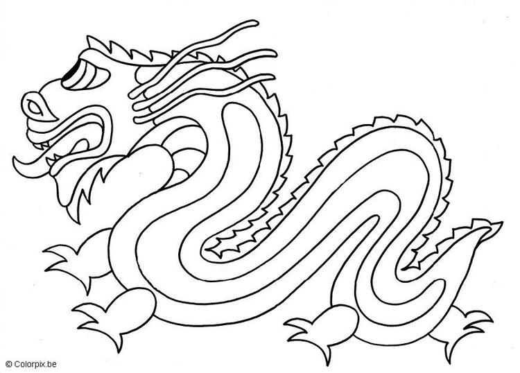 Coloriage dragon chinois img 5662 images - Coloriage de dragon ...