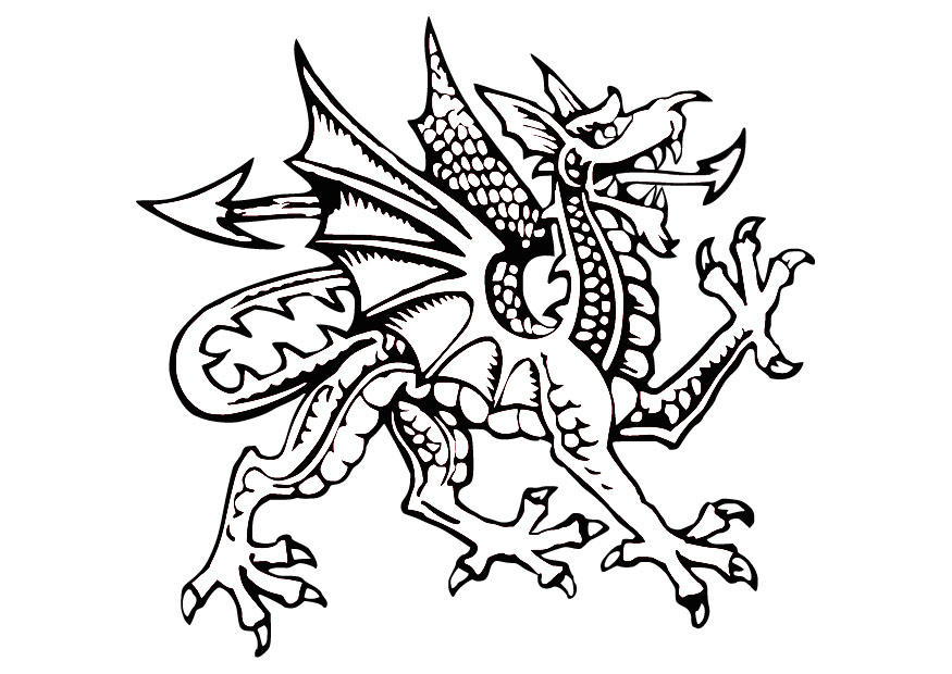 Coloriage Dragon Img 9856