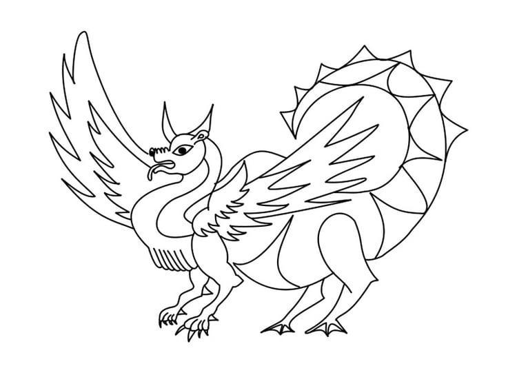 coloriage dragon  coloriages gratuits à imprimer