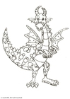 Coloriage dragonnaux