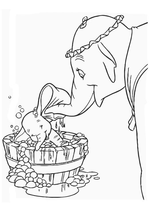 Coloriage Dumbo Coloriages Gratuits A Imprimer Dessin 20751
