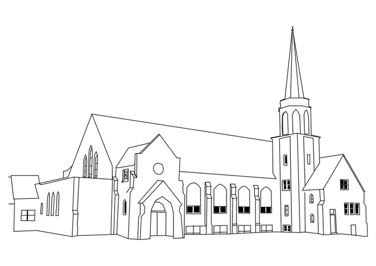 Coloriage 233 Glise Img 27180