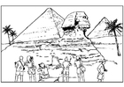 Coloriages Egypte