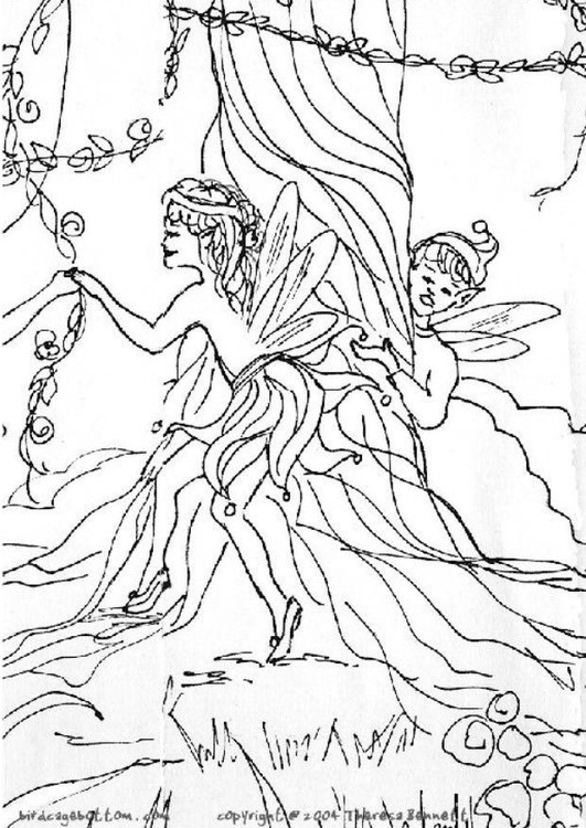 Coloriage elfes img 5758 images - Coloriage elfes ...
