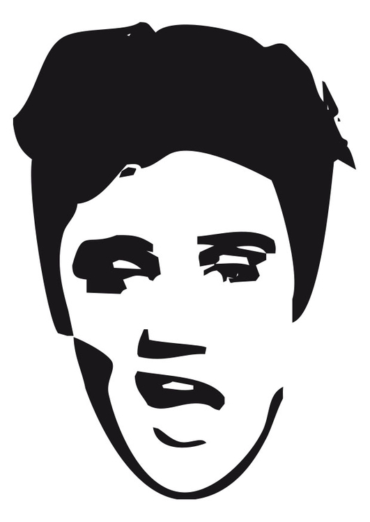 coloriage-elvis-presley-dm24628